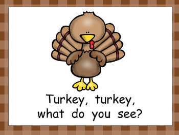 Pilgrim, Pilgrim- Thanksgiving Kindergarten Shared Reading PowerPoint