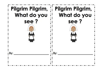 Pilgrim Pilgrim, What do you see?