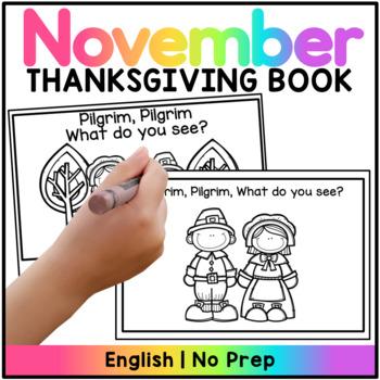 Pilgrim, Pilgrim What do you see? Thanksgiving Booklet