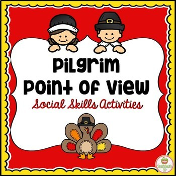 Thanksgiving Social Skills Activities Point of View