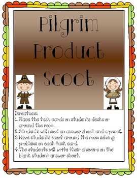 Pilgrim Product Scoot