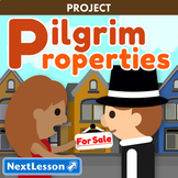 Pilgrim Properties - Thanksgiving ELA & Social Studies Project
