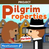 Pilgrim Properties - Thanksgiving ELA & Social Studies Project