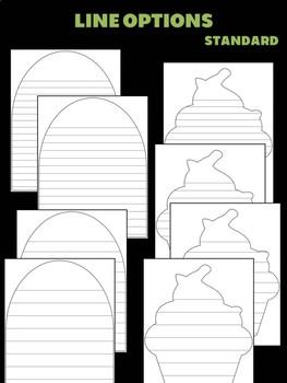 Pilgrim Rabbit Cupcake - Jackie's Craft Activities, Color and Write