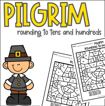 Pilgrim Rounding to Tens and Hundreds Coloring