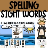 Pilgrim Sight Word Spelling Review Game November