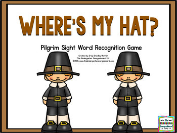 Pilgrim Sight Words By Kindergarten Smorgasboard Tpt
