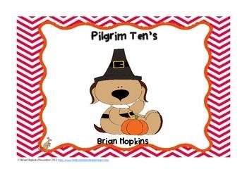 Pilgrim Ten's (Making Tens - True or False)