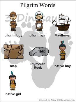 Pilgrim Thanksgiving Easy Reader Set