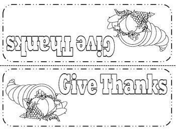 Thanksgiving Table Art