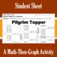 Pilgrim Topper - A Math-Then-Graph Activity - Solve 15 Systems