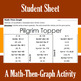 Pilgrim Topper - A Math-Then-Graph Activity - Finding Vertices