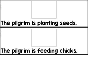 Pilgrim Verbs Sentence Match Up