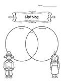 Pilgrim & Wampanoag Venn Diagrams