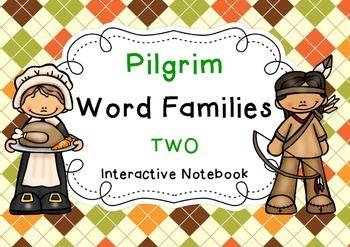 Pilgrim Word Families 2 { Interactive Notebook }