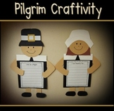 Pilgrim Writing Craftivity