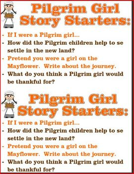 Pilgrim Writing Prompts