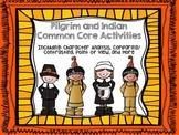 Pilgrim and Indian Common Core Activities