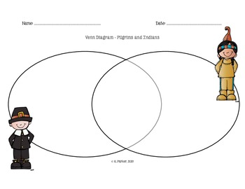Pilgrim and Indians Venn Diagram