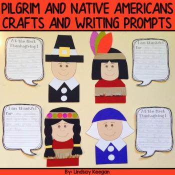 Thanksgiving - Pilgrim and Native American Craftivities an