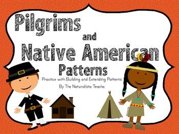 Pilgrim and Native American Patterns