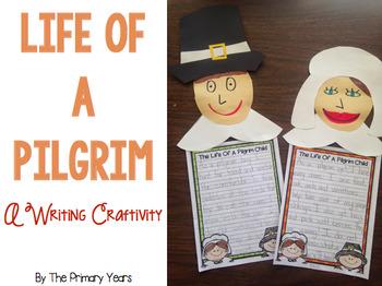 Life of a Pilgrim Child Writing Craftivity