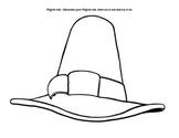 Pilgrim hats art project