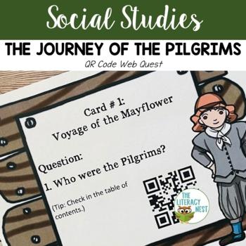 Pilgrims QR Code Web Quest