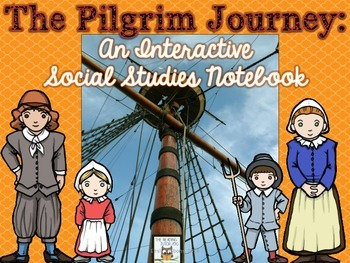 Pilgrims Interactive Notebook