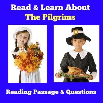 Pilgrims Activity   Pilgrims Unit   Pilgrims Reading Passage