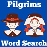 Pilgrims Worksheet Activity | Word Search