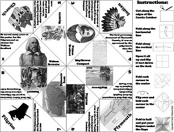 Pilgrims and Native Americans Activity