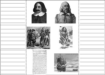 Pilgrims and Indians: Plymouth Colony Activity: Squanto, Mayflower Compact, etc.