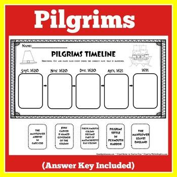 FREE Pilgrims Activity