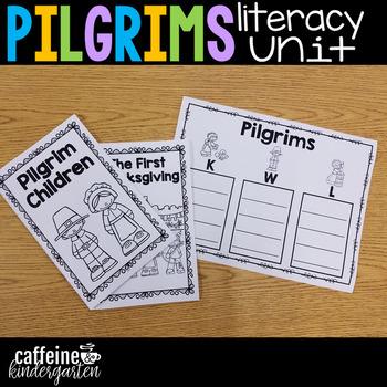 Pilgrims - An All About Pilgrims Literacy Unit