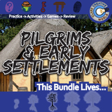Pilgrims & Early Settlements -- U.S. History Curriculum Unit Bundle
