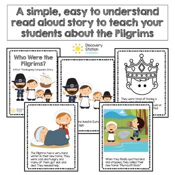 Pilgrims First Thanksgiving Informative Story