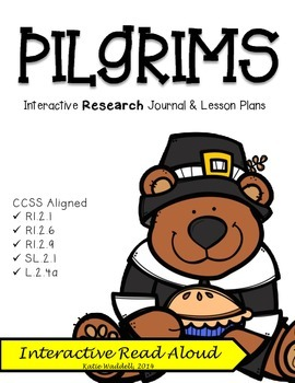 Pilgrims {Interactive Research Journal & Lesson Plans}