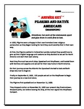 Pilgrims Journey to America (Thanksgiving beginning)