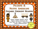 Pilgrims & Native Americans Foldable Readers ~5 Books & Pr