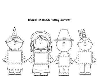 Pilgrims & Native Americans common core mini-unit with Craftivity