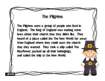 Pilgrims Reading Passages and Questions