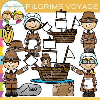 Pilgrims Clip Art