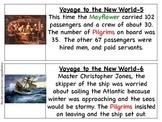 Pilgrim's Voyage Informational Cards