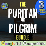Pilgrims Mini-Unit:  Teach the first colonists to New England! Google 1:1!