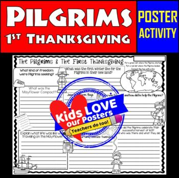 Pilgrims and First Thanksgiving: Fun Thanksgiving Writing