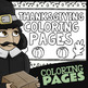 Thanksgiving Coloring Pages For Kindergarten★ Pilgrims and Wampanoag Indians