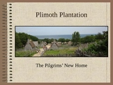 Pilgrims and Indians, Mayflower, and Plimoth Plantation Thanksgiving PowerPoint