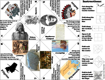 Pilgrims and Native Americans Activities Bundle