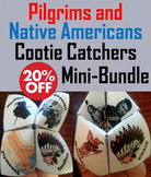 Pilgrims and Native Americans Activities Bundle
